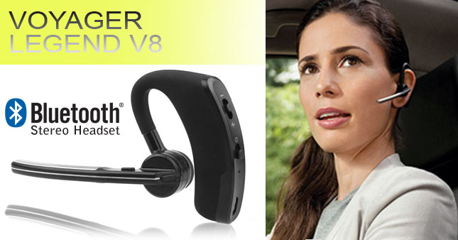 50% OFF! Voyager Legend V8 Wireless Bluetooth Stereo Headset worth Rs. 6,500 for just Rs. 3,250 inclusive of Warranty!