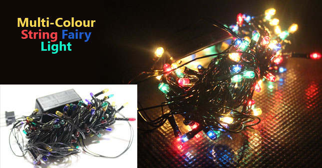 50% OFF! Celebrate the vesak with 100L Multi-color String Fairy Lights worth Rs. 399 just for Rs. 199!