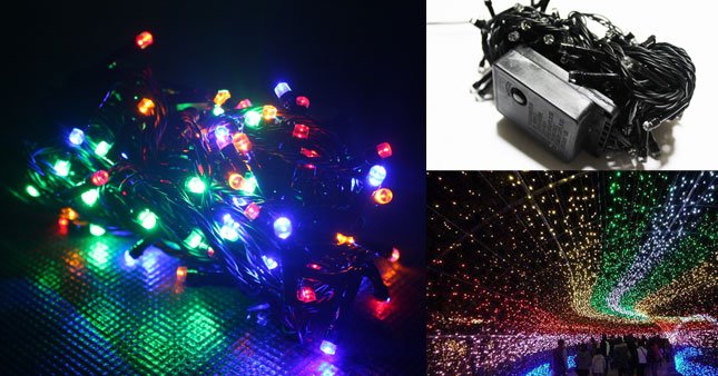 40% OFF! High Brightness Multi-colored LED 100L String Lights worth Rs. 580 just for Rs. 350!