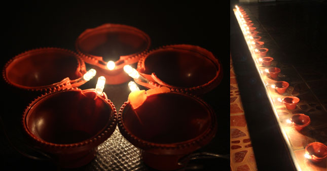 40% OFF! 20 Piece Plastic Plug-in Vesak Lamps worth Rs. 750 just for Rs. 450!