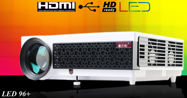 50% OFF! 2500 Lumens Professional Multimedia LED Projector worth Rs. 69,000 now at an unbelievable price of only Rs. 34,500 with warranty.
