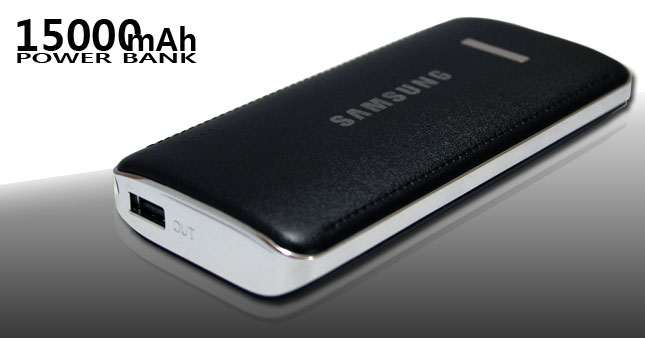 53% OFF! Stylish and luxury design 15000mAh Power Bank worth Rs.2,900 for just Rs. 1,350!