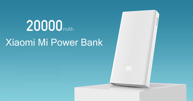32% OFF! Original Mi 20000mAh Power Bank worth Rs. 9,500 for just Rs. 6,450!