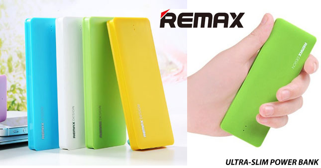 41% OFF! Original REMAX RM-TG5000 Ultra-Thin Portable 5000mAh Li-polymer Power Bank worth Rs. 3,000 for just Rs. 1,750 inclusive of Warranty!