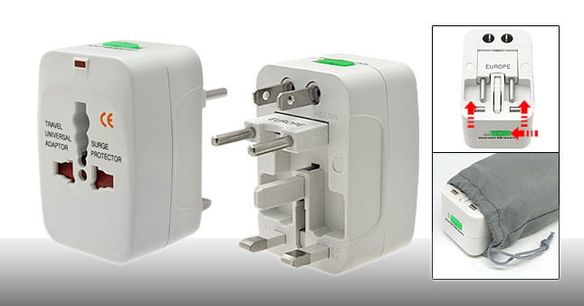 50% OFF! All-in-One Universal Power Adapter worth Rs. 700 for just Rs. 350!