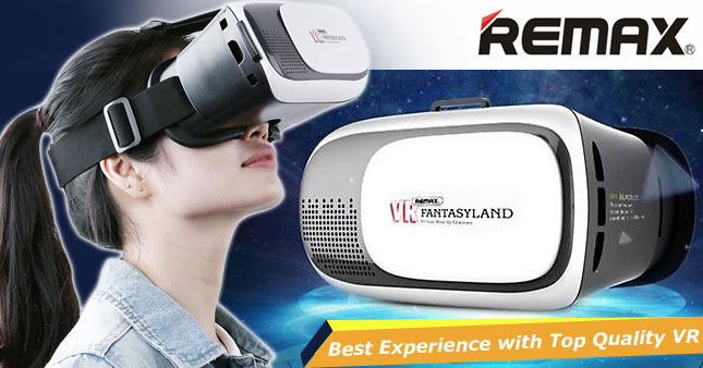 50% OFF! Remax Fantasyland Virtual Reality Glasses worth Rs. 3,500 for just Rs. 1,750!