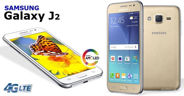 11% OFF! Samsung Galaxy J2 4G worth Rs.17,999 for just Rs.15,850 inclusive of One Year Agent Warranty!