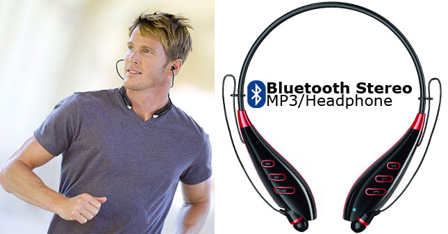 40% OFF! Sport S740T Bluetooth Stereo Headphone worth Rs. 2,950 for just Rs. 1,750!