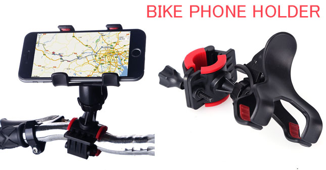 50% OFF! Universal Bike/Bicycle Mobile Phone Holder worth Rs. 700 for just Rs. 350!