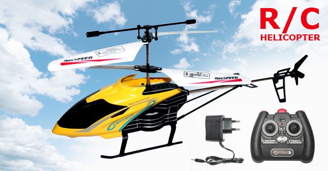 50% OFF! Super Durable King Remote Control Helicopter worth Rs. 5,300 for just Rs. 2,650!