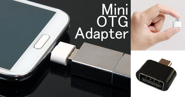 57% OFF! Mini OTG Adapter worth Rs. 350 for just Rs. 150!