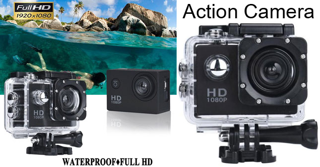 45% OFF! HD Waterproof Digital Sports Action Camera worth Rs. 9,900 for just Rs. 4950!