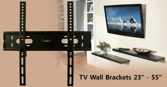 40% OFF! Universal TV Tilting Wall Mount Bracket worth Rs. 3,100 for just Rs. 1,850!