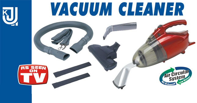 44%  OFF! 1000W Power JK-8 Vacuum Cleaner worth Rs. 6,165 for just Rs. 3,450 inclusive of Warranty!