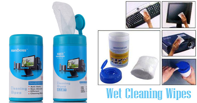 50%  OFF! Clean Your Electronic Devices with Handboss 88pcs Wet Cleaning Wipes worth Rs. 700 for just Rs. 350!