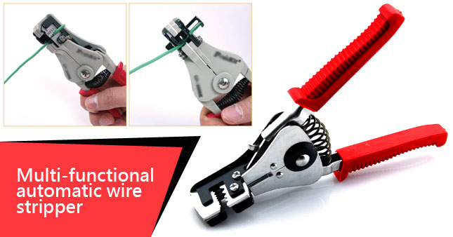 52% OFF! Multi-Functional Automatic Wire Stripper worth Rs. 750 for just Rs. 360!