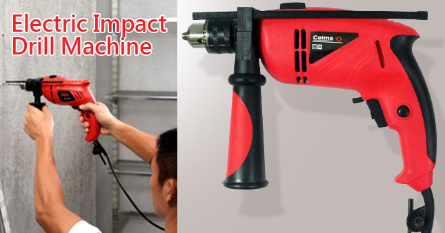 50% OFF! Electric Impact Drill Machine worth Rs. 5,600 for just Rs. 2,800!