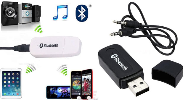 40% OFF! USB Powered Bluetooth Music Receiver worth Rs. 1,500 for just Rs 750!