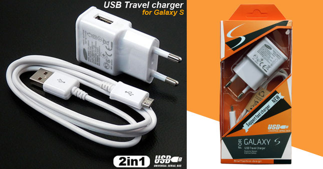 50% OFF! 2 in 1 Samsung OEM high speed Travel Charger with Detachable USB data cable worth Rs. 999 for just Rs. 499!
