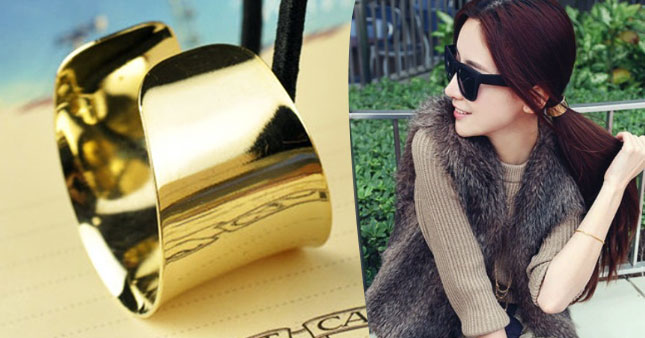 43% OFF! Alloy Hemicycle Ring Hair Cuff worth Rs.700 for just Rs.399!