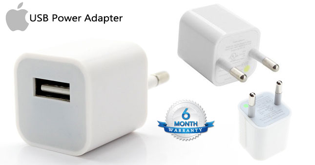 50% OFF! Apple A1385 Authentic iPhone & iPad Travel USB Power Adapter worth Rs. 1,900 for just Rs. 950!
