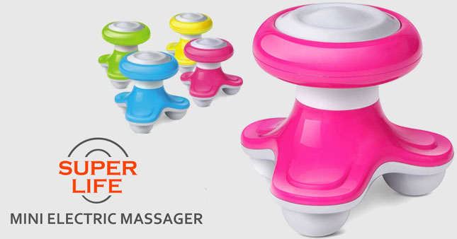 50% OFF! Get Super Life Mini Electric Massager worth Rs. 600 for just Rs. 299!