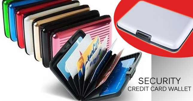 41% OFF! Protect your credit card with Aluminum Wallet worth Rs. 320 for just Rs. 190!