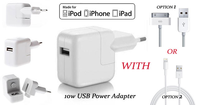 43% OFF! 10W High Quality Apple iPad Charger worth Rs. 1,500 for just Rs. 850!