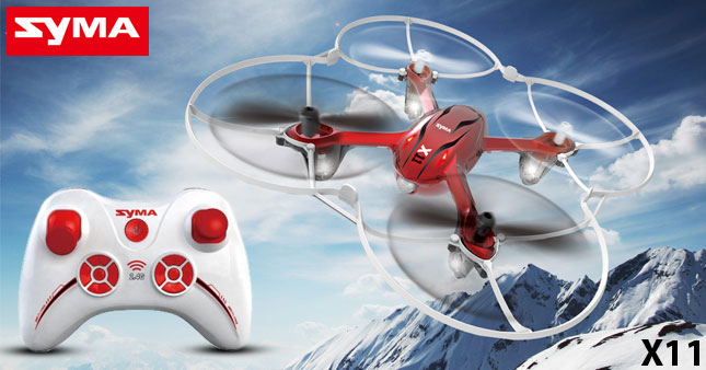 40% OFF! SYMA X11 HORNET 4CH 2.4GHz 6-Axis Gyro Mini Quadcopter Drone worth Rs. 8,000 for just Rs 4,850!