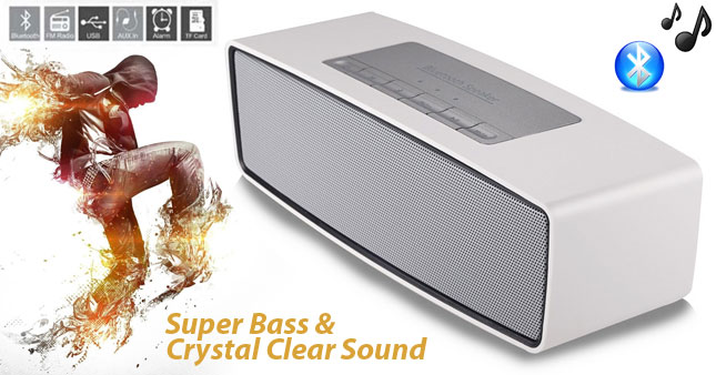 50% OFF! Get Super Bass and Crystal Clear Sound S2025 High Performance Bluetooth Speaker worth Rs.7000 for just Rs.3500!