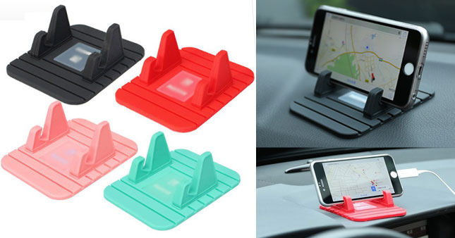 50% OFF! Universal Soft Silicone Anti Slip Mat Mobile Phone Holder worth Rs. 780 for just Rs. 390!