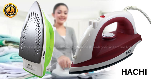 40% OFF! Hachi Steam Iron (HA-S1200) worth Rs. 1,750 for just Rs. 1,050 Inclusive Of Warranty!