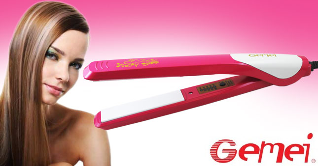 46% OFF! Gemei Professional Hair Straightener (GM-1997) worth Rs. 2,250 for just Rs. 1,200 Inclusive Of Warranty!