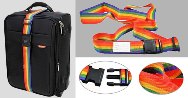 50% OFF! Adjustable Rainbow Luggage Strap worth Rs. 300 for just Rs. 150!