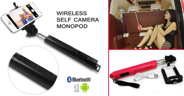 57% OFF! Bluetooth Wireless Monopod worth Rs. 2,250 for just Rs. 950!