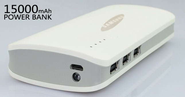 57% OFF! High Capacity 15000mAh Power Bank with 3 USB Ports worth Rs.3,750 for just Rs. 1,600!