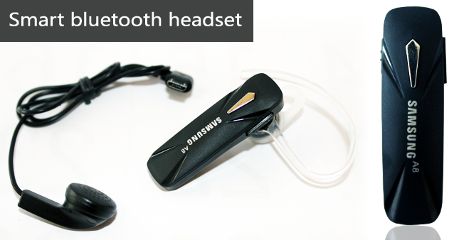 65% OFF! Smart Voice Number Prompt Stereo Music Bluetooth Headset worth Rs. 2,750 for just Rs. 950!