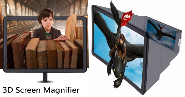 60% OFF! 3D Screen Magnifier for Mobile Phones worth Rs. 1,000 for just Rs. 399!