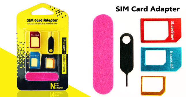 69% OFF! Nano Sim Adapter worth Rs. 399 for just Rs. 120!
