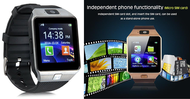 59% OFF! Seasonal Offer... Get Bluetooth GSM Smart Watch with Camera worth Rs. 3,500 for just Rs. 1,450!