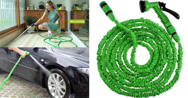50% OFF! Price Further Reduced! The Expandable Magic Garden Hose worth Rs. 1,700 for just Rs. 850!