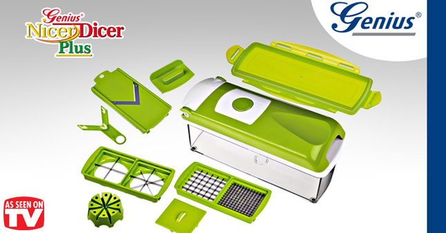 53% OFF! Multi-Purpose Vegetable Chopper 'The Nicer Dicer Plus' worth Rs. 2,700 for just Rs. 1,250!