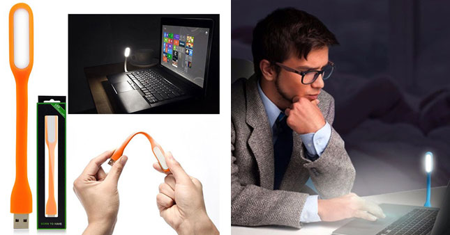 50% OFF! USB Powered LED Portable Lamp worth Rs. 300 for just Rs. 150!