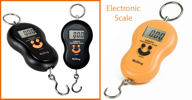 64% OFF! 40Kg Digital Hanging Weight Scale worth Rs. 1,550 for just Rs. 550!