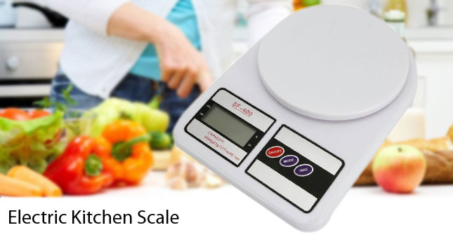 50% OFF! 5Kg Electronic Digital Kitchen Scale (SF-400) worth Rs. 1,499 for just Rs. 850!