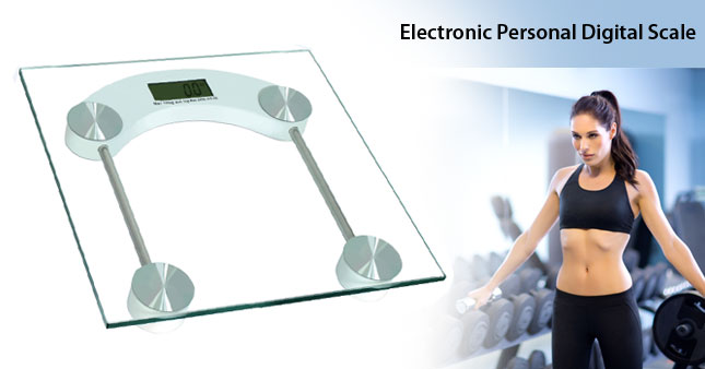 50% OFF! Electronic Personal Digital Scale worth Rs. 2,300 for just Rs. 1,150!
