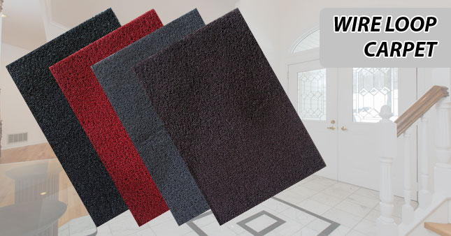 35% OFF! Wire Loop Carpet worth Rs. 600 for just Rs. 390!