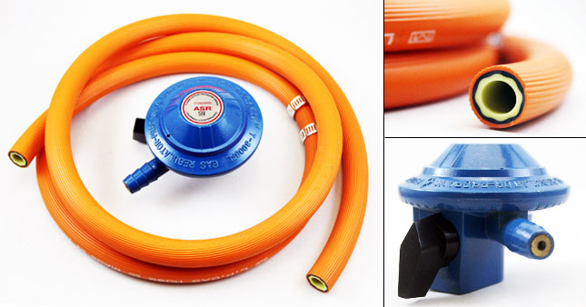 50% OFF! Gas Regulator with Hose worth Rs. 1,700 for just Rs. 850!