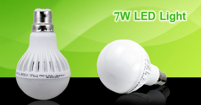 50% OFF! Energy Saving 7W Pin Type (B22) LED Bulb worth Rs. 340 for just Rs. 170 Inclusive Of Warranty!