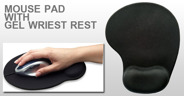40% OFF! Anti Slip Mouse Pad with Gel Wrist Comfort worth Rs. 750 for just Rs. 450!